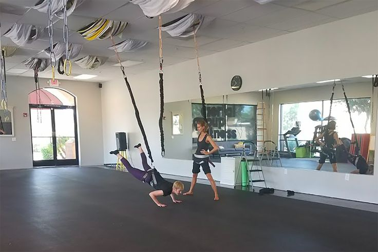 You might not have to go all the way to Thailand to try the Bungee Workout anymore. You just have to trek to the first U.S. studio to offer it, Tough Lotus Aerial Group Fitness and Personal Training Studio in Chandler Arizona. And it might be worth a trip.