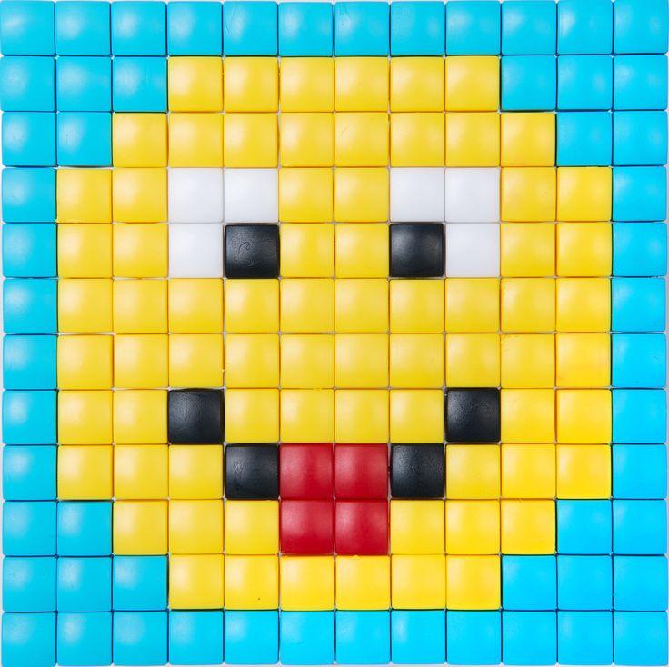 #PixelHobby #hobby #XL #pixelen #kinderen #speelgoed #knutselen #doe het zelf #smiley