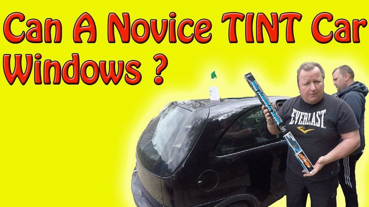Tinting Car Windows With Privacy Film How To (DIY)