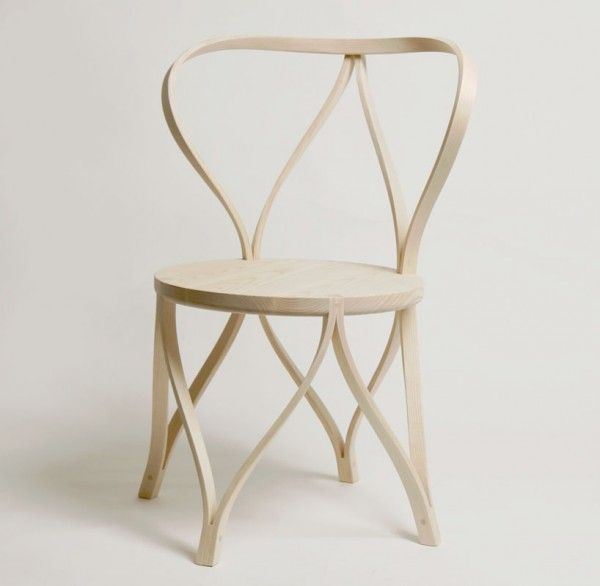 Tension Bentwood Chair by Dohoon Kim