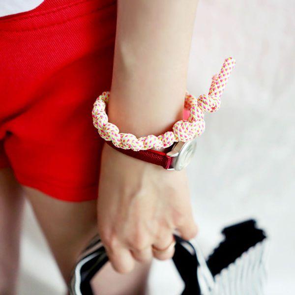 NEW Qnigirls Womens Neon Screw Knots Bracelets Korean Wave Hallyu #Qnigirls #Friendship