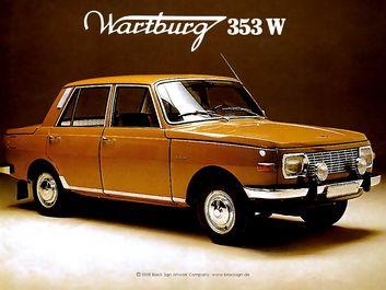 Wartburg 353W, it's even orange!