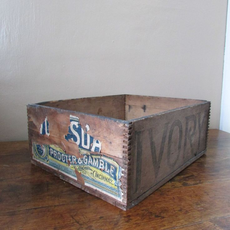 Excited to share the latest addition to my #etsy shop: Antique Crate - Vintage Wooden Crate - Large Wooden Antique Crate - Procter and Gamble Crate http://etsy.me/2C4qmrv #housewares #homedecor #brown #vintagewoodcrate #antiquewoodcrate #oldwoodcrate #woodencrate #anti