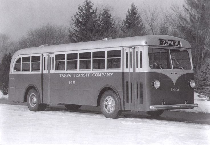144 Best Buses From The Past Images On Pinterest Buses