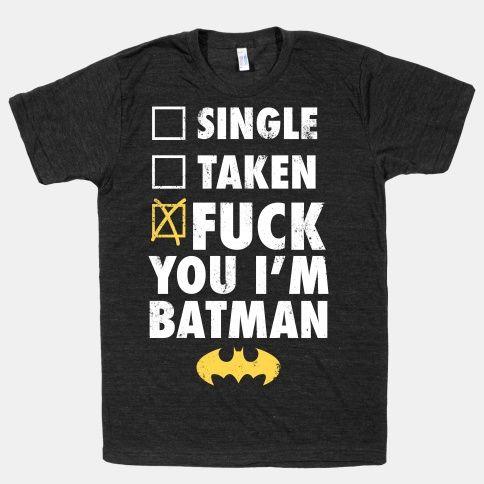 Fuck You I'm Batman (Dark) | HUMAN | T-Shirts, Tanks, Sweatshirts and Hoodies