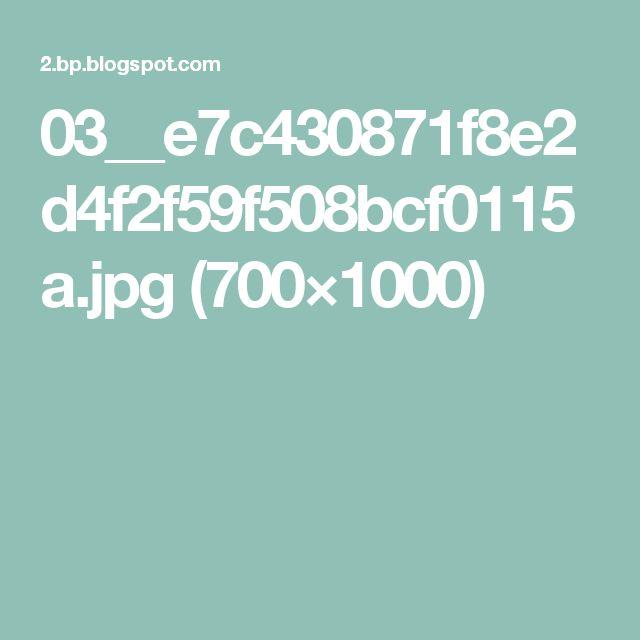 03__e7c430871f8e2d4f2f59f508bcf0115a.jpg (700×1000)