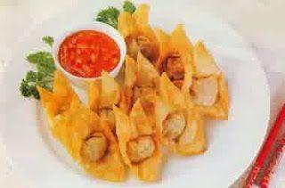 Resep Cara membuat pangsit goreng http://resepjuna.blogspot.com/2016/04/resep-pangsit-goreng-isi-ayam-kok.html masakan indonesia
