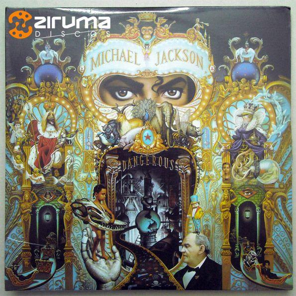 ONLY FOR EXHIBITION / SOLO PARA EXHIBICION: Michael jackson - Dangerous - 2 x LP - 1991 - Ed. Ven. - NM -  + INFO: info@zirumaradio.net