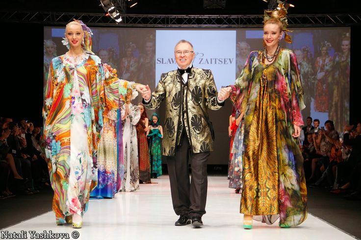 Новости из мира моды и красоты: Показ Slava Zaitsev на выставке CPM 2014