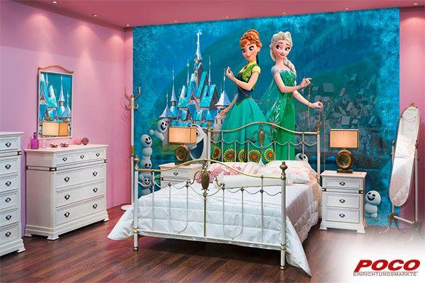 Für mehr Farbe im Kinderzimmer! Ca. 184 x 254 cm #Eiskönigin