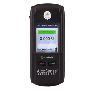 """The AlcoSense Precision + Breathalyser is a state of the art instrument ideal for personal and workplace breath testing. It uses an electrochemical fuel cell to measure the concentration of alcohol from the exhaled human breath.  It is the perfect tool for law enforcement, OH&S, schools, alcohol treatment, emergency rooms and medical professions. This has been touted as the """"Best workplace Breathalyser."""""""