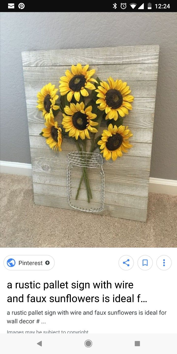 Pin By Hailey Bass On Great Ideas Sunflower Kitchen Decor Home Crafts Diy Home Decor
