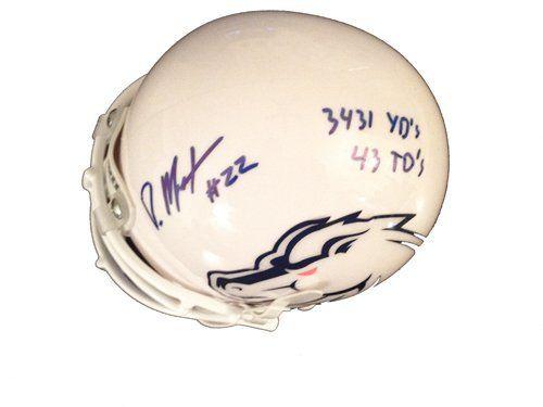 Doug Martin Autographed Boise State Broncos White Mini Helmet with Stats  #Autographed #Boise #Broncos #Doug #Helmet #Martin #Mini #State #Stats #White boisestategear.com