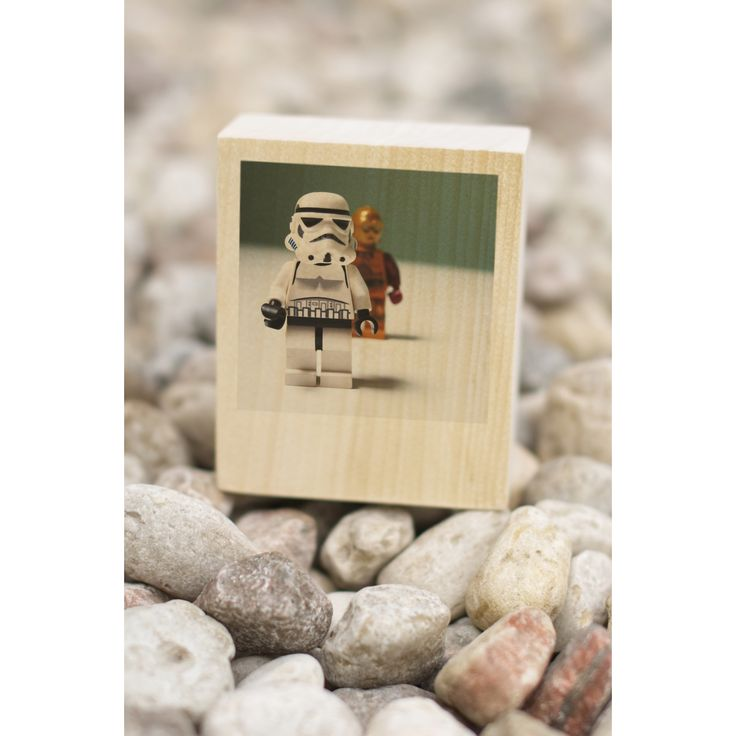 Star Wars Gift For Fan ∙ Photo On Wood With Star Wars Heroes ∙ Lego Star Wars Star ∙ Gift For Him