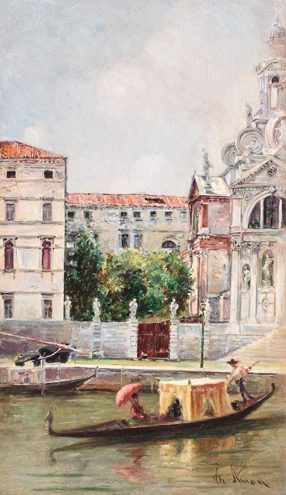 Venice - Theodor Aman 1884 | art | Pinterest