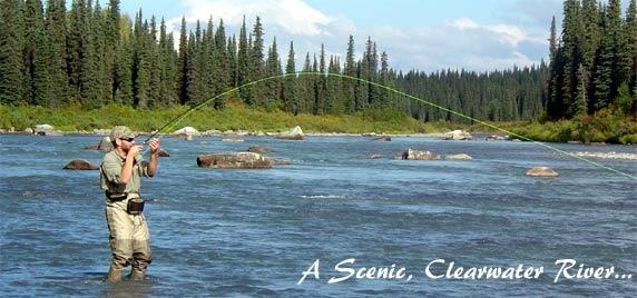 Fly fishing Alaska! http://www.wildernessplacelodge.com/alaska-fishing/fly-fishing.html