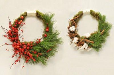 YaU Concept _ YaU flowers _ secret santa 2014 _ christmas wreath _ yausecretsanta2014+coronitacraciun (2) #christmas #christmasdecor #holiday #candle #christmascandle #yauconcept #yau #christmasdecoration #wreath #christmaswreath
