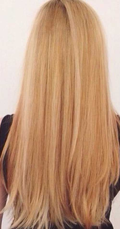15  Long Strawberry Blonde Hair