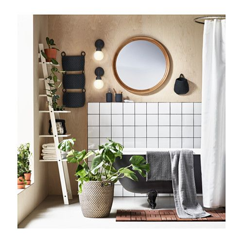 """IKEA: STABEKK Mirror - light brown; $99; Dimensions: 29 1/2 """"; Article Number: 602.880.89"""