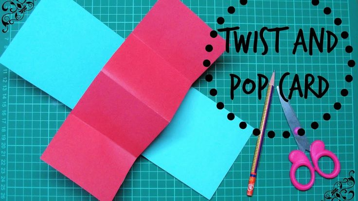 Basic Twist And Pop Card Tutorial