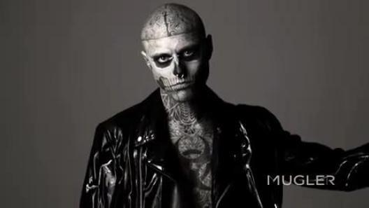 얼굴 해골 문신 - Google 검색