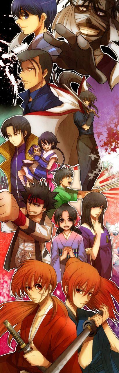 Hiten Mitsurugi Ryu! Anime, Rurouni kenshin, Cartoon