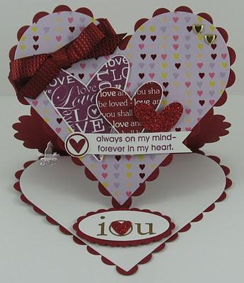 Heart Easel Card