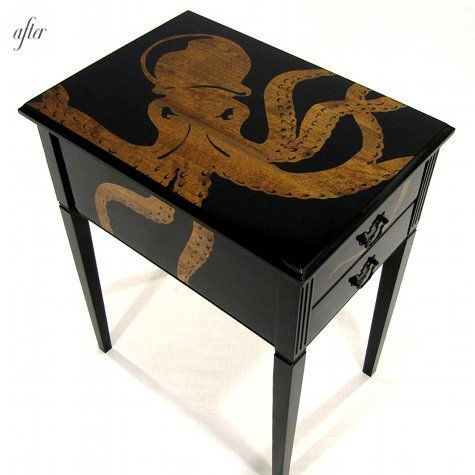 Octopus endtable