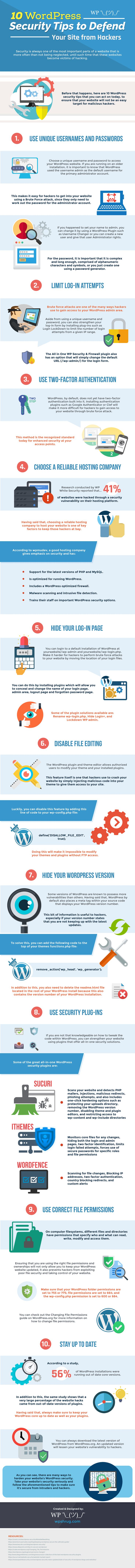 10 WordPress Security Tips to Defend Your Site from Hackers - #blogging
