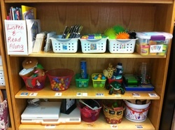 Relaxation Station for students who need sensory/relaxation breaks.