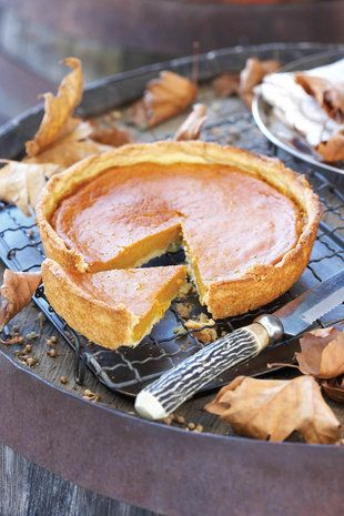 Pumpkin tart. #TheTexasFoodNetwork finding interesting recipes to share with everyone. Come share your recipes with us too on Facebook at The Texas Food Network