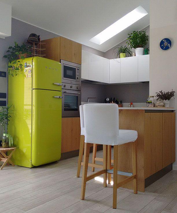 A casa di Ilaria At Ilaria House Modello_Model: Oyster Rivenditore: Erbarredi http://www.venetacucine.com/ita/racconti-di-vita/ilaria.php #raccontidivita