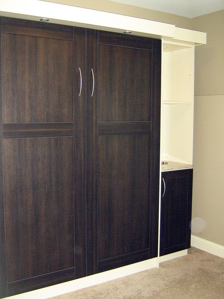 Elegant Wall Bed, Murphy Bed, California Closets Twin Cities, MN