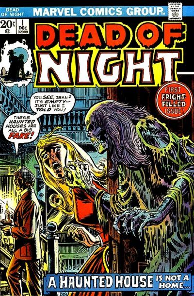 vintage comic book covers | ... Old Comic Books » Archives » Halloween Comic Book Covers - Dead of