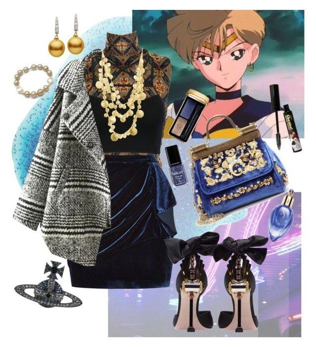 """Uranus fashion ♡"" by mumachan on Polyvore featuring ファッション, Dolce&Gabbana, Laura Biagiotti, Pinko, WithChic, Relaxfeel, Ashiana, Miu Miu, Vivienne Westwood と Guerlain"