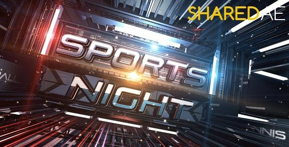 Videohive - Sports Night Broadcast Pack 19329099 - Free Download