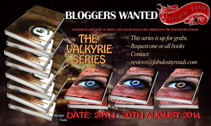 REVIEWERS WANTED for The Valkyrie Series by Karen Perkins #GIVEAWAy $100 | Fabulosity Reads