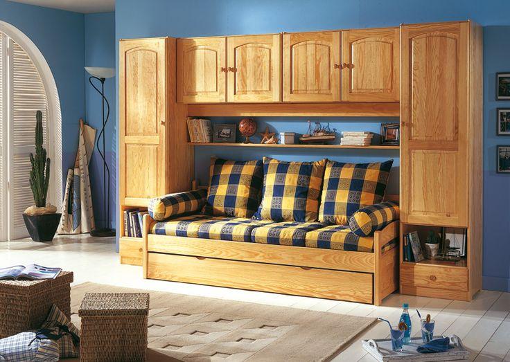les 25 meilleures id es de la cat gorie lit pont sur pinterest pont de lit tag re autour du. Black Bedroom Furniture Sets. Home Design Ideas