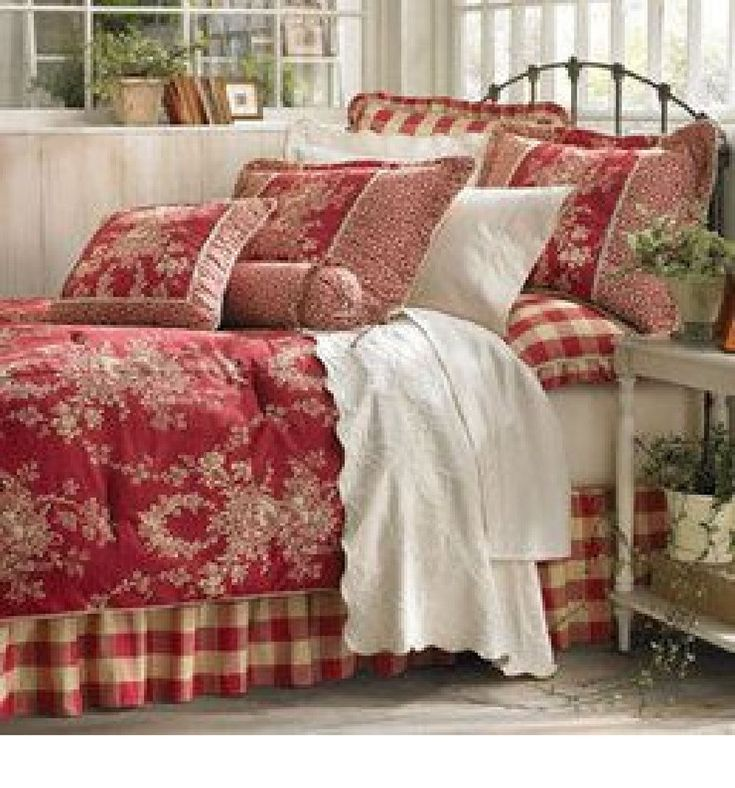 marvelous blue sky bedroom country styl | 1246 best images about red interior design & room decor on ...