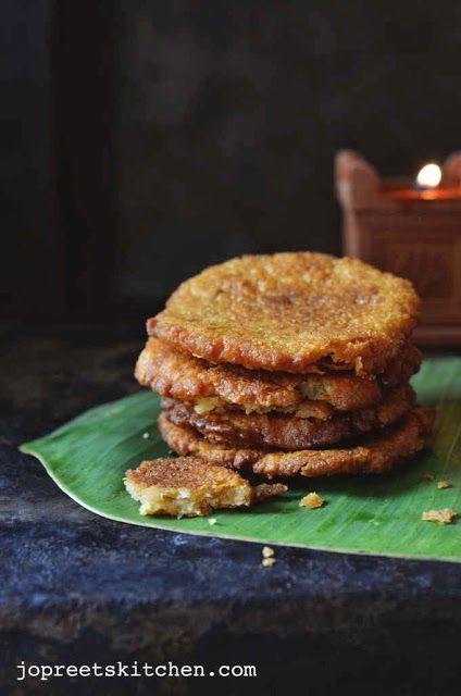 Adhirasam / Ariselu (Jaggery & Sugar Versions) - Diwali Sweets