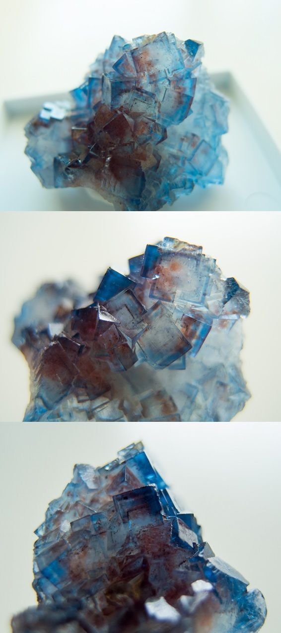 Fluorite with Amazing colors, phantoms and zoning