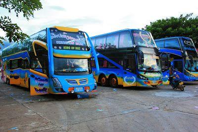 Transporte en Pakse. Autobuses a Tailandia, Camboya y Vietnam. Estación de autobuses Chitpasong (autobuses VIP) y estación Kriang Kai. Buses nocturnos a Vientian, Vang Vieng y Luang Prabang. Horarios y precios de los autobuses.