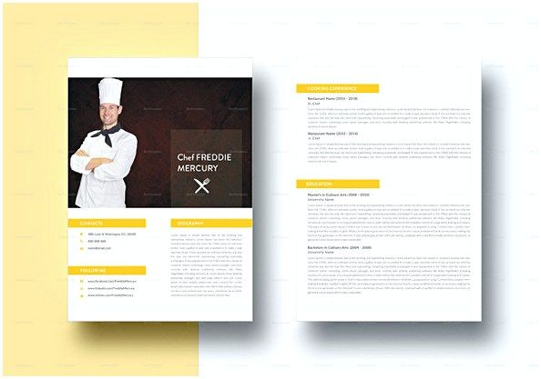 Experienced Chef Resume template , Hotel and Restaurant Management , Being in a hospitality both challenging and exciting. Read the Sample Resume for Hotel and Restaurant Management article for you who want to apply.
