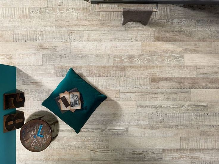 Full-body porcelain stoneware wall/floor tiles with wood effect SCRAPWOOD Air Scrapwood Collection by Italgraniti