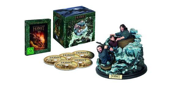 [Angebot] Der Hobbit: Smaugs Einöde [Extended Collectors Edition] [Blu-ray und Blu-ray 3D] für 2490