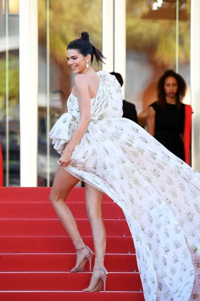 Kendall Jenner attends the '120 Beats Per Minute ' screening during the 70th annual Cannes Film Festival at Palais des Festivals on May 20 2017 in...
