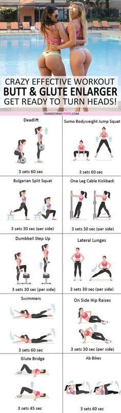 Crazy Effective Butt Builder Workout