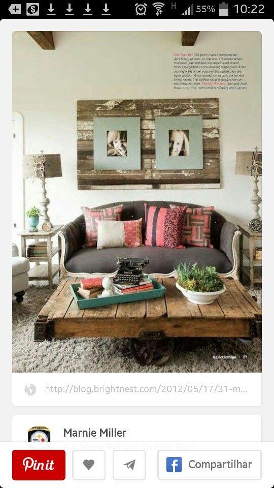 22 besten salas Ideias de decorações com pallet Bilder auf Pinterest - lounge gartenmobel 22 interessante ideen fur paradiesischen garten