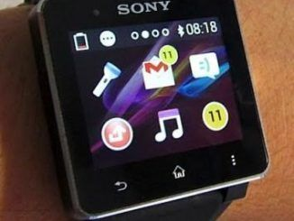 Sony Smartwatch 2 Water Resistant Watch With Bluetooth