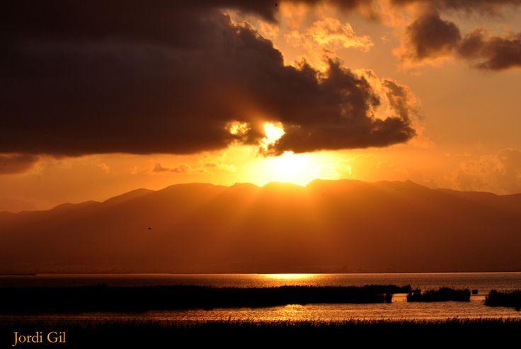Un cielo inspirador. Delta del Ebro. Jordi Gil Ferre
